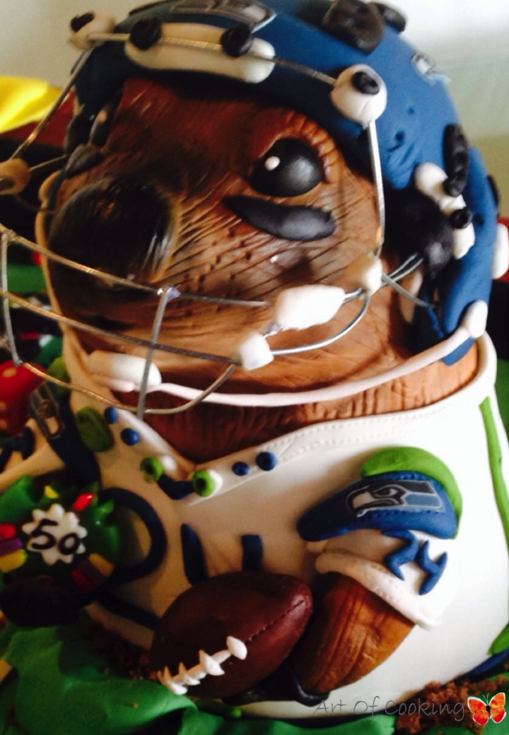 Seattle Seahawks Super Bowl Birthday Cake Full Service Catering