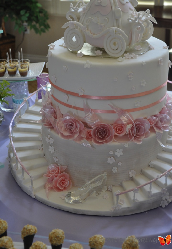 art of cooking catering event planning weddings consulting las vegas cake design caterer planner party corporate vip bridal shower cinderella cake desserts