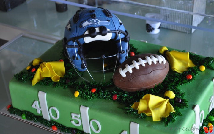 Seattle Seahawks Birthday Cake Full Service Catering And Event