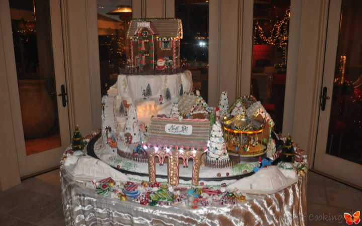 Catering Cake Design : Gingerbread Christmas Village Full Service Catering and ...