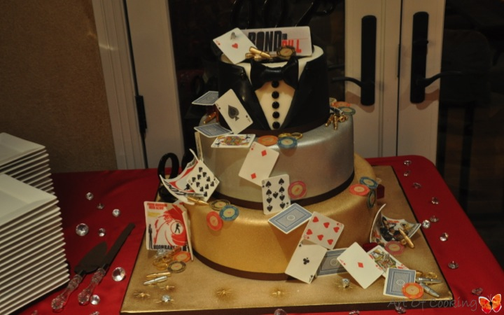 James Bond Poker Player Cake | Full Service Catering and ...