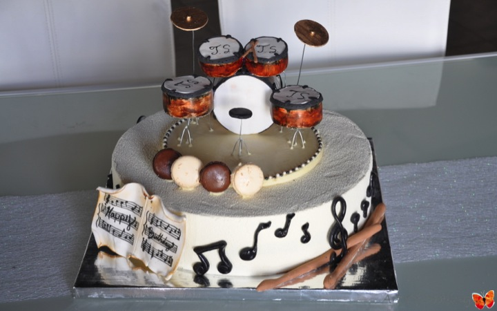Happy Birthday Cake For A Caterer