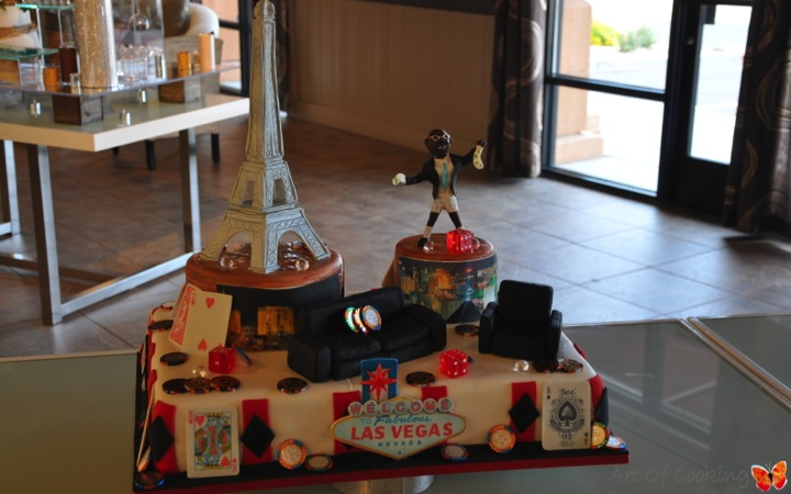 Will edwards birthday cake full service catering and for Las vegas craft shows