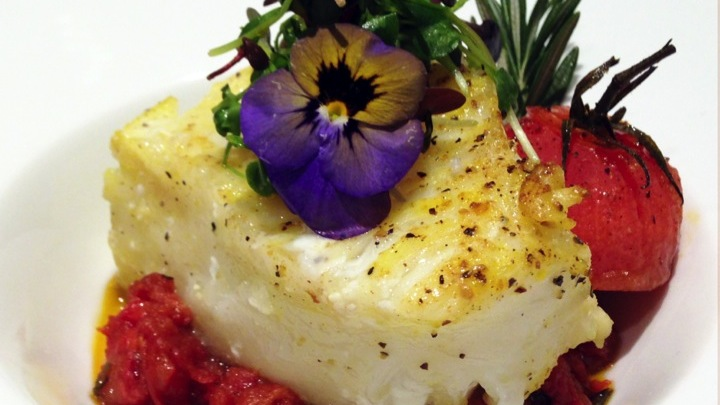 Chilean Seabass, Tomato Confit