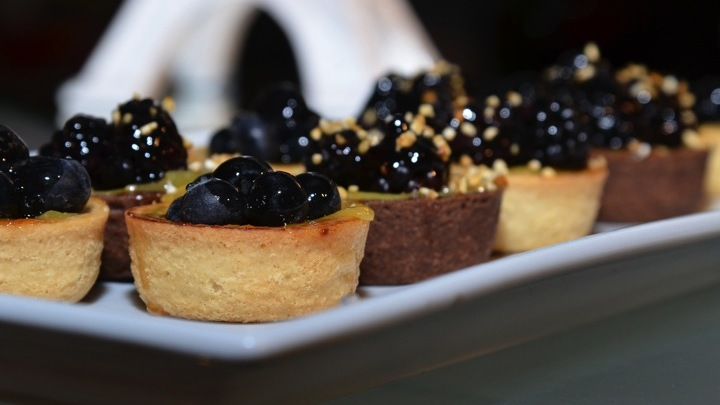 Catering Las Vegas Gourmet Berries Tartlets
